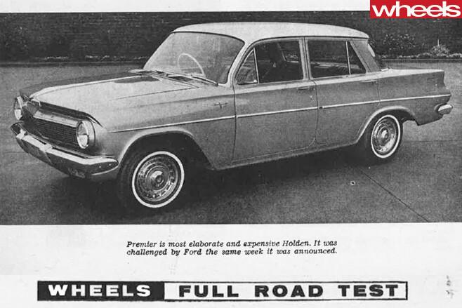 1962-Holden -Premier -side