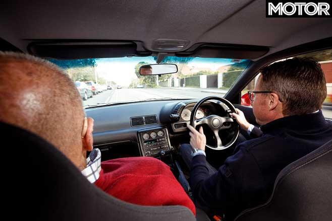 Mark Skaife Fred Gibson R 32 Skyline GT R Drive Jpg