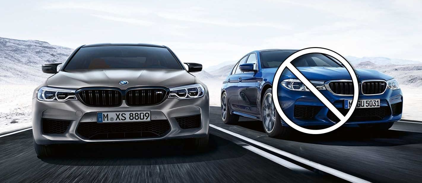 BMW M5 Competition replaces standard M5 in Australia