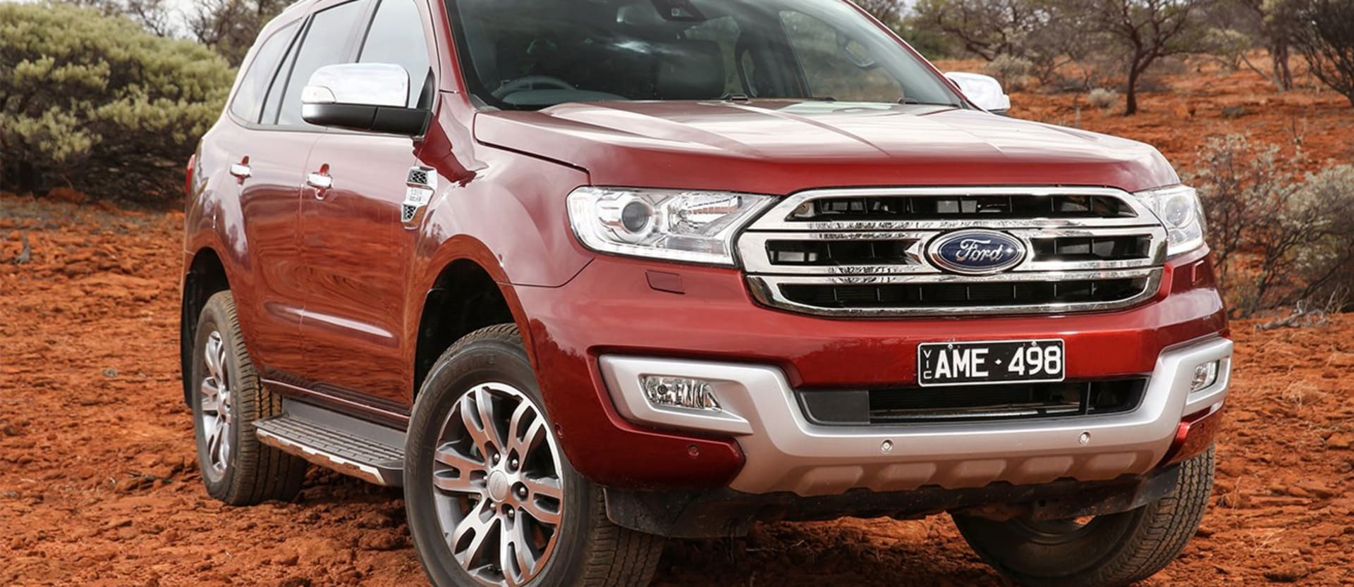 2018 Ford Everest Titainium gains no-cost off-road package option