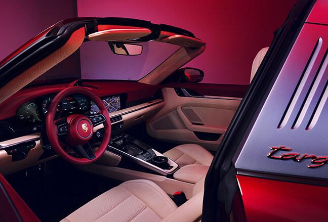 Porsche reveals 911 Targa 4S Heritage Design Edition