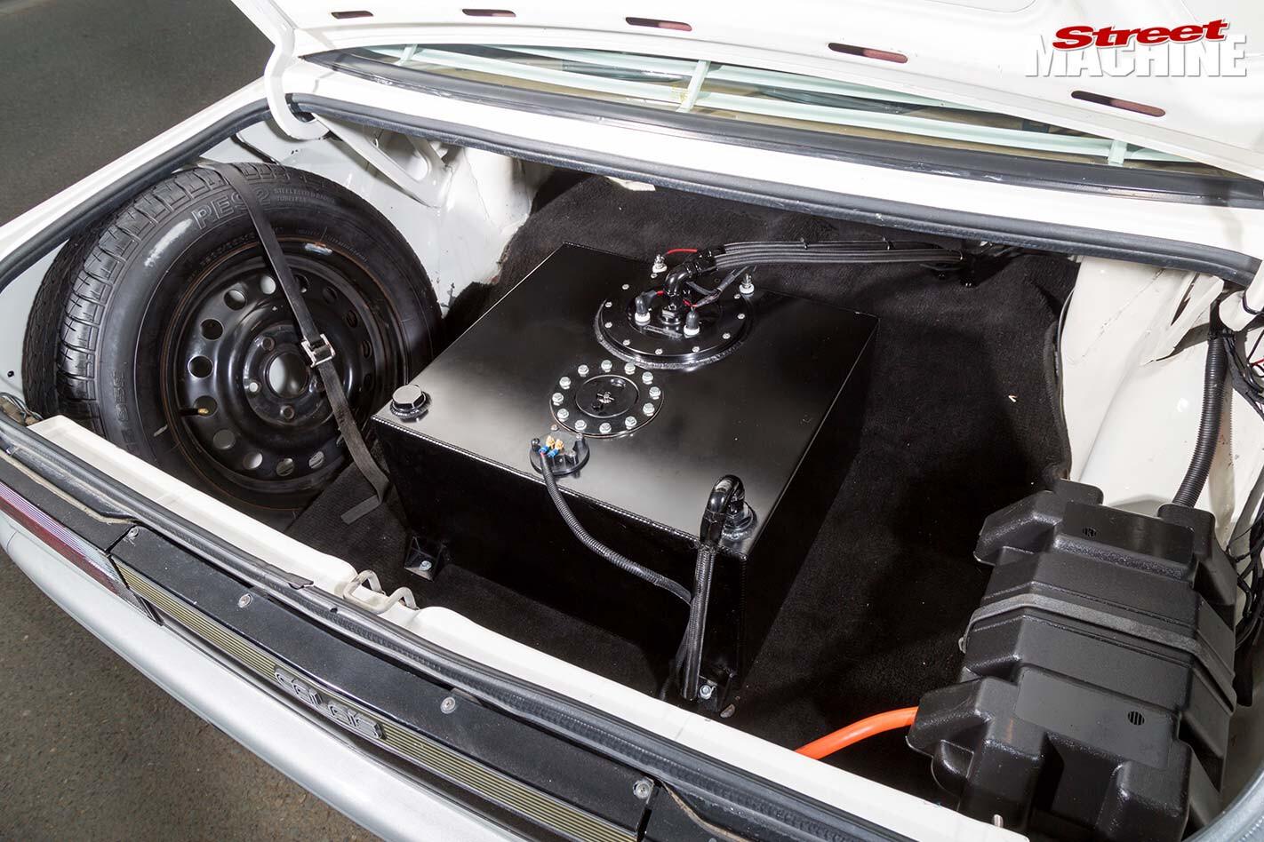 Holden VL Calais boot