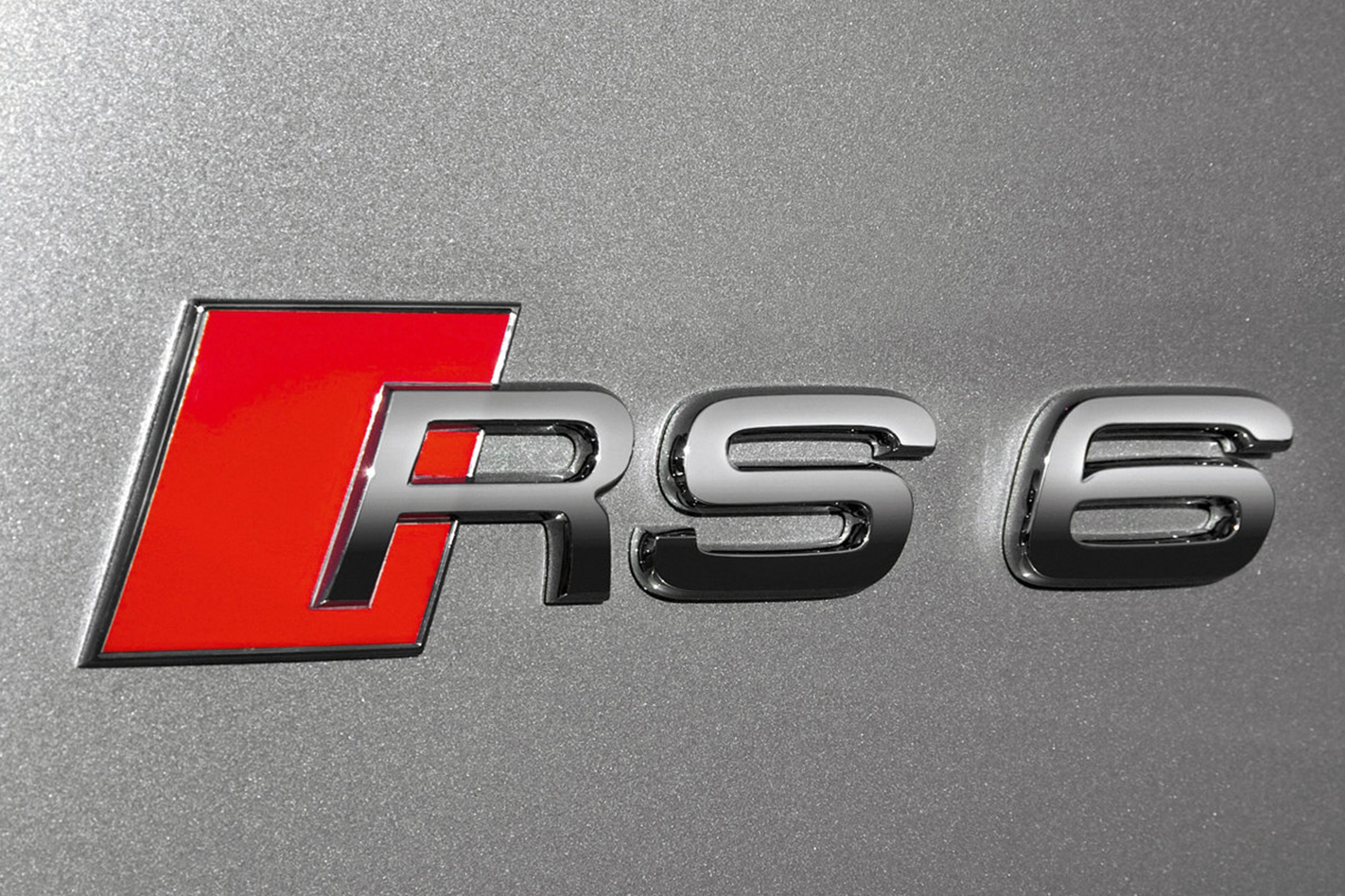 2008 Audi RS6 Avant badge