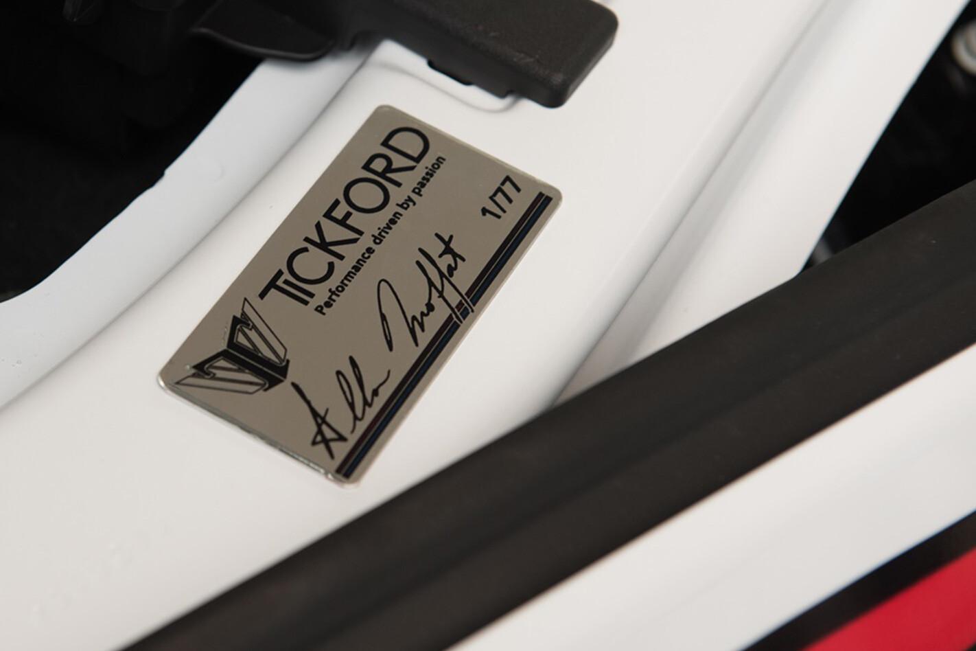 Tickford Mustang signed by Allan Moffat