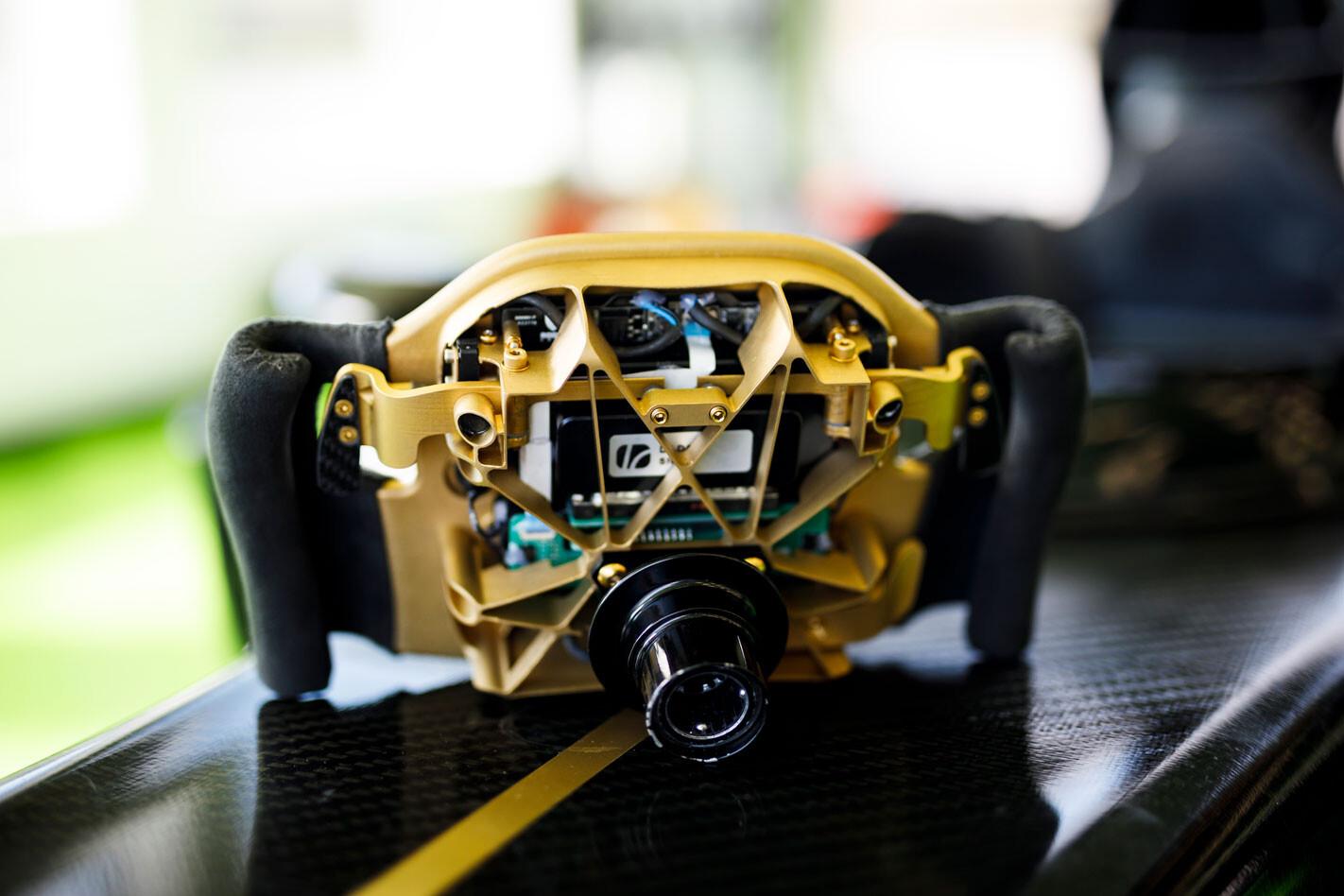 Rodin F1 steering wheel