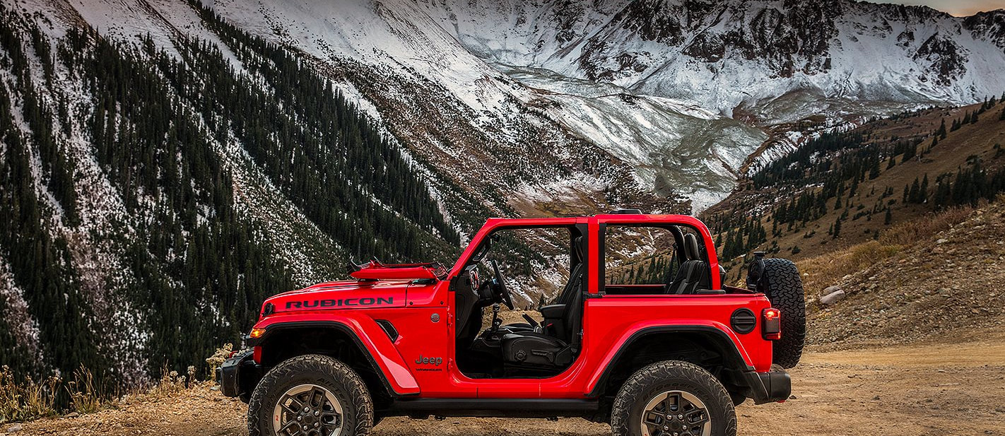 2018 Jeep Wranger: first official pictures