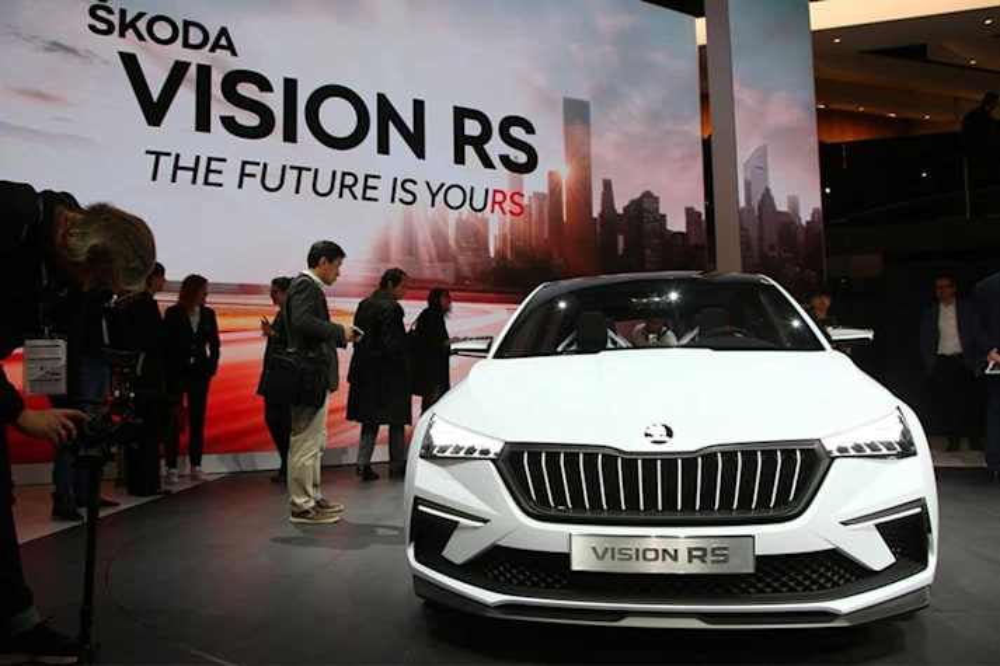 Skoda Vision RS Concept Rapid Replacement 2018 Paris Motor Show Jpg