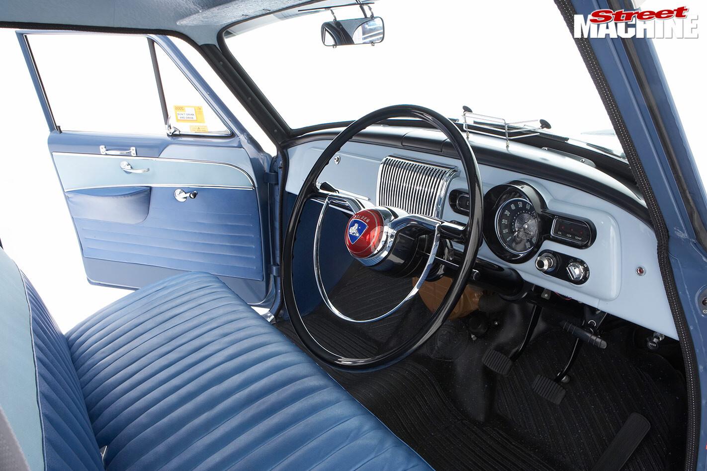 Holden FC interior