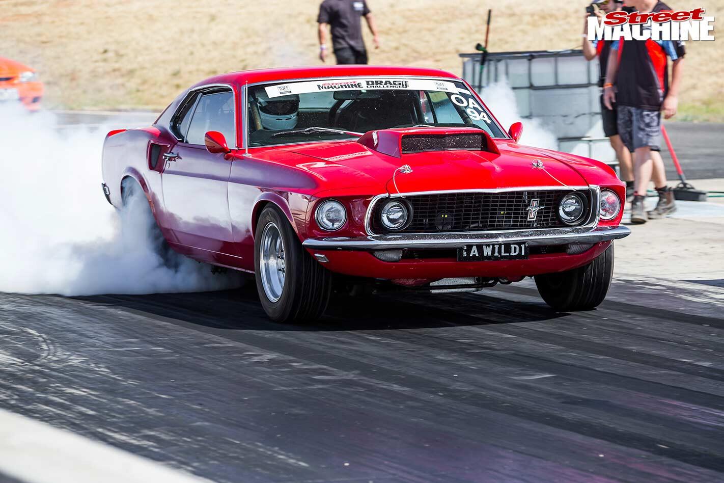 Drag challenge 2017 Mustang