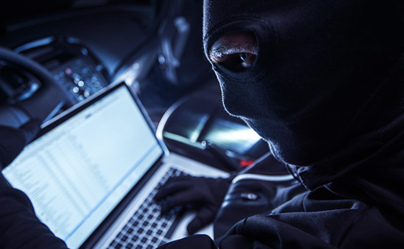 Hackers attempting to access laptop