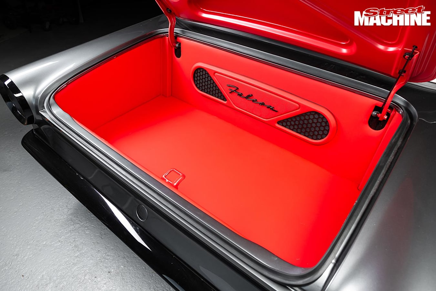 Ford XM Falcon boot