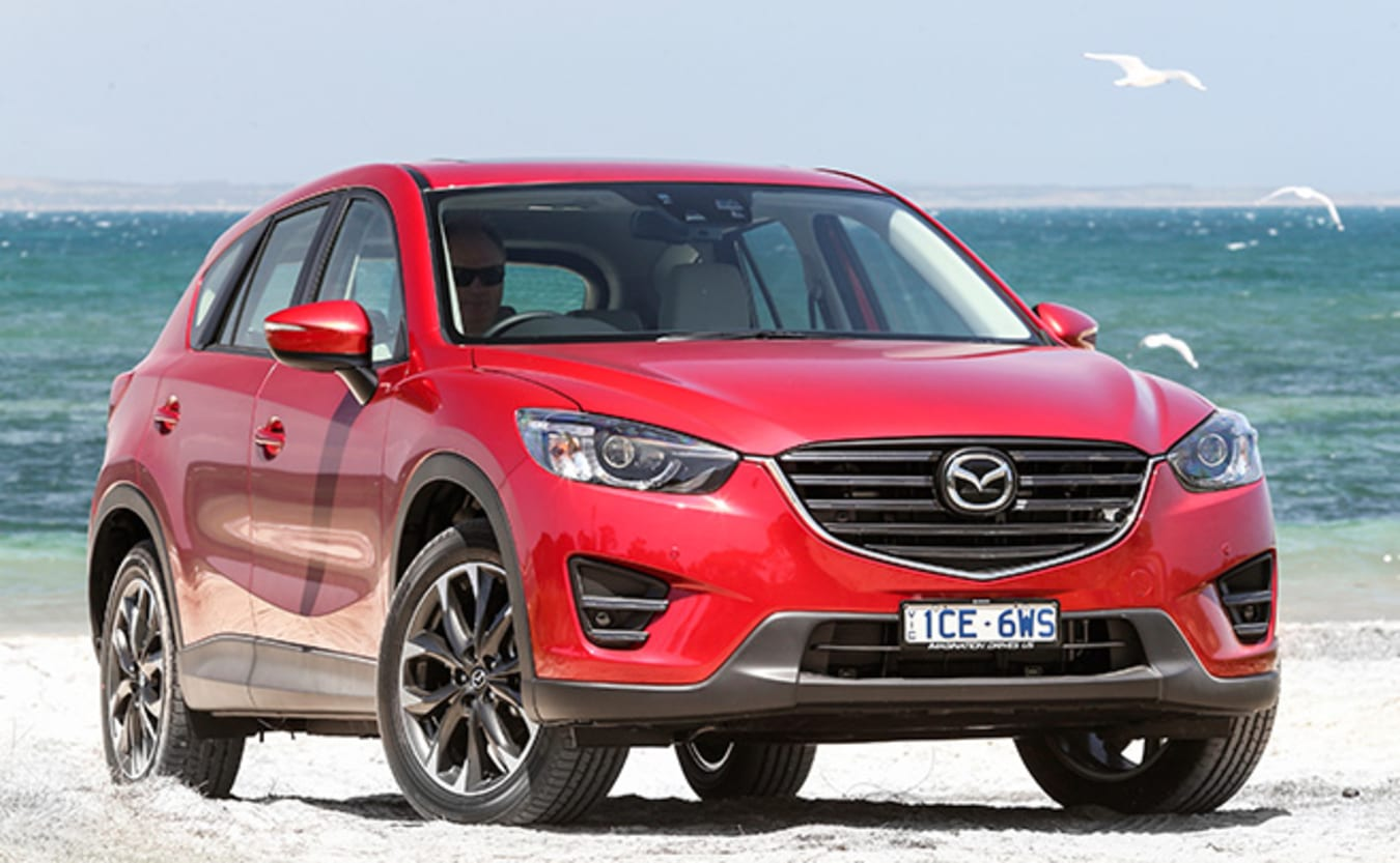 Mazda CX-5 red front