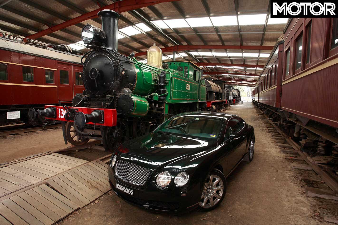 2008 Bentley Continental GT Thirlmere Rail Heritage Centre Jpg