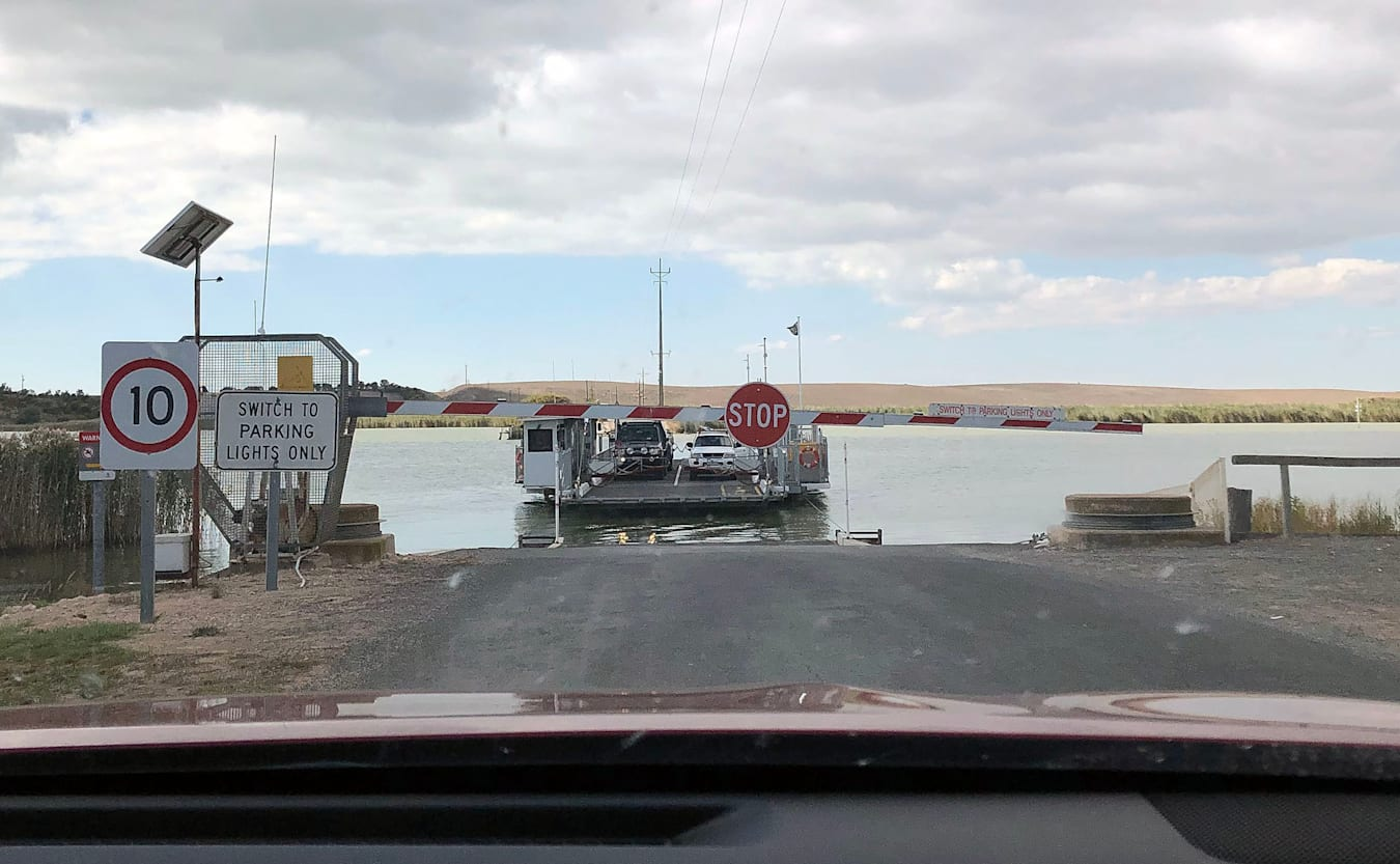 Coorong ferry