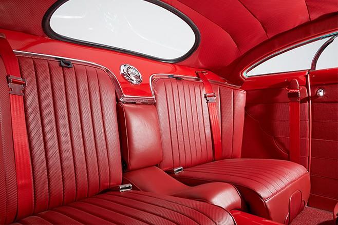 Mercury coupe interior rear
