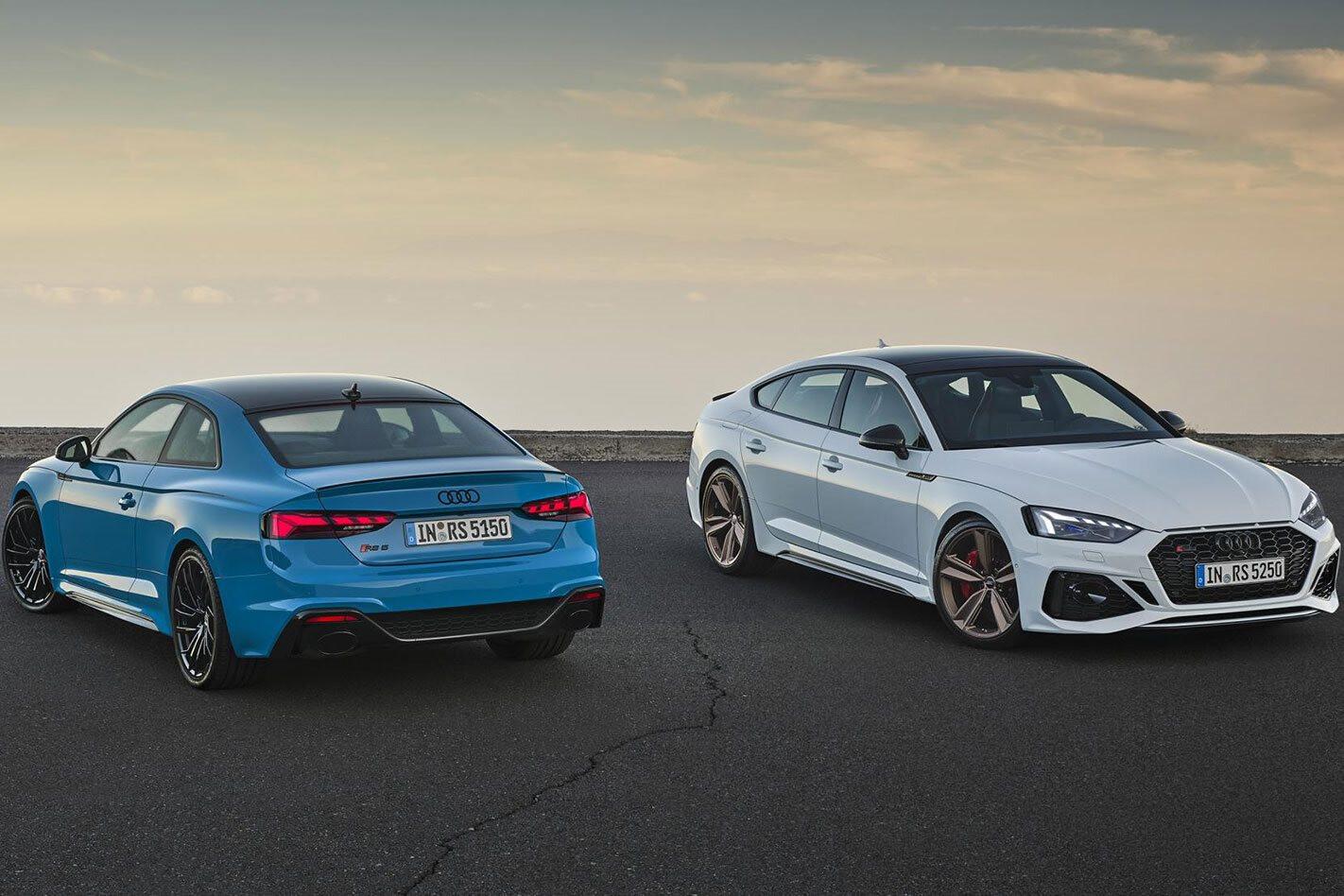 2020 Audi RS5 facelift
