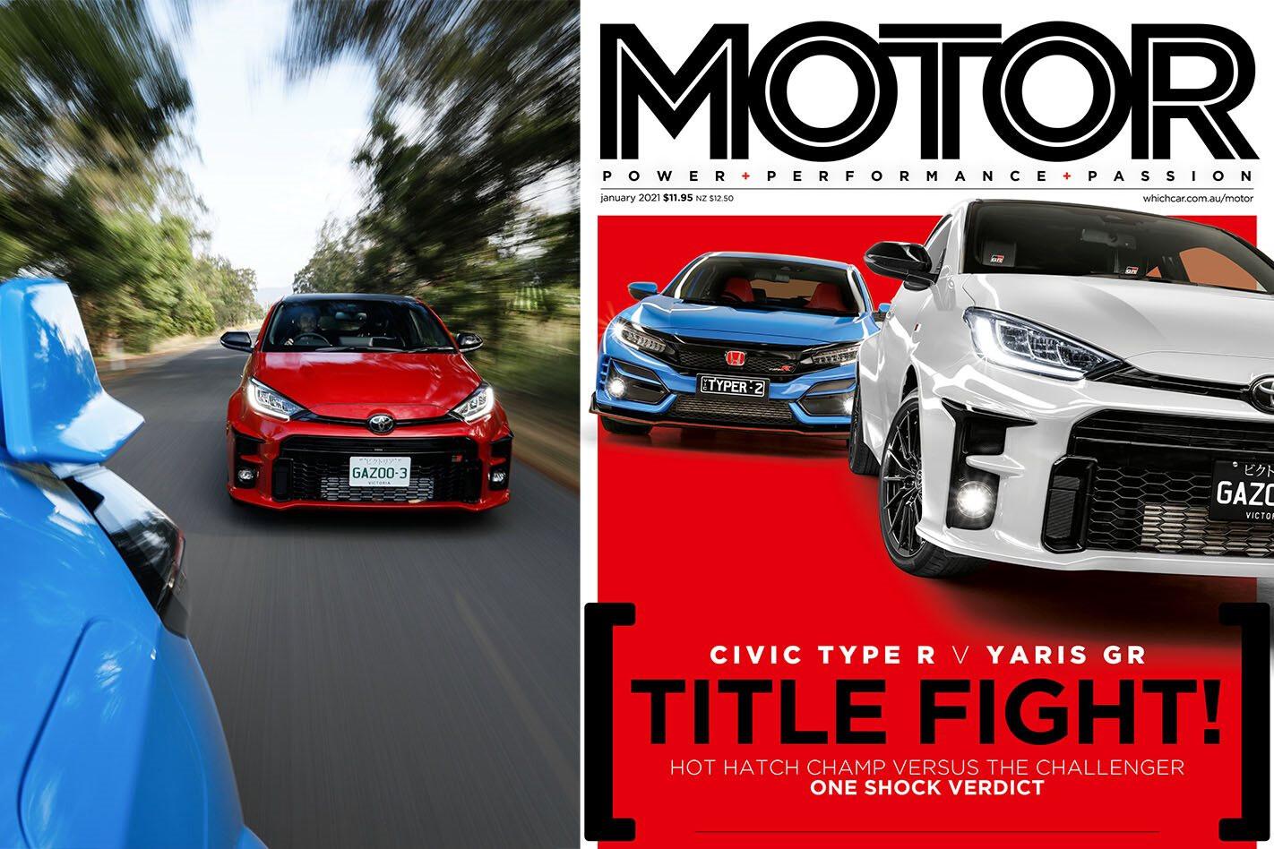 MOTOR magazine Jan 2021 cover
