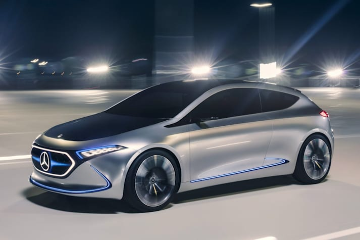 Mercedes EQA hatch concept