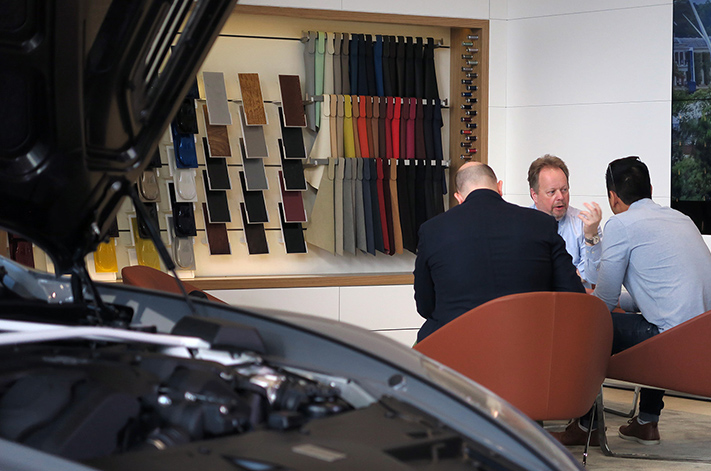 Five minutes with Aston Martin's Andy Palmer