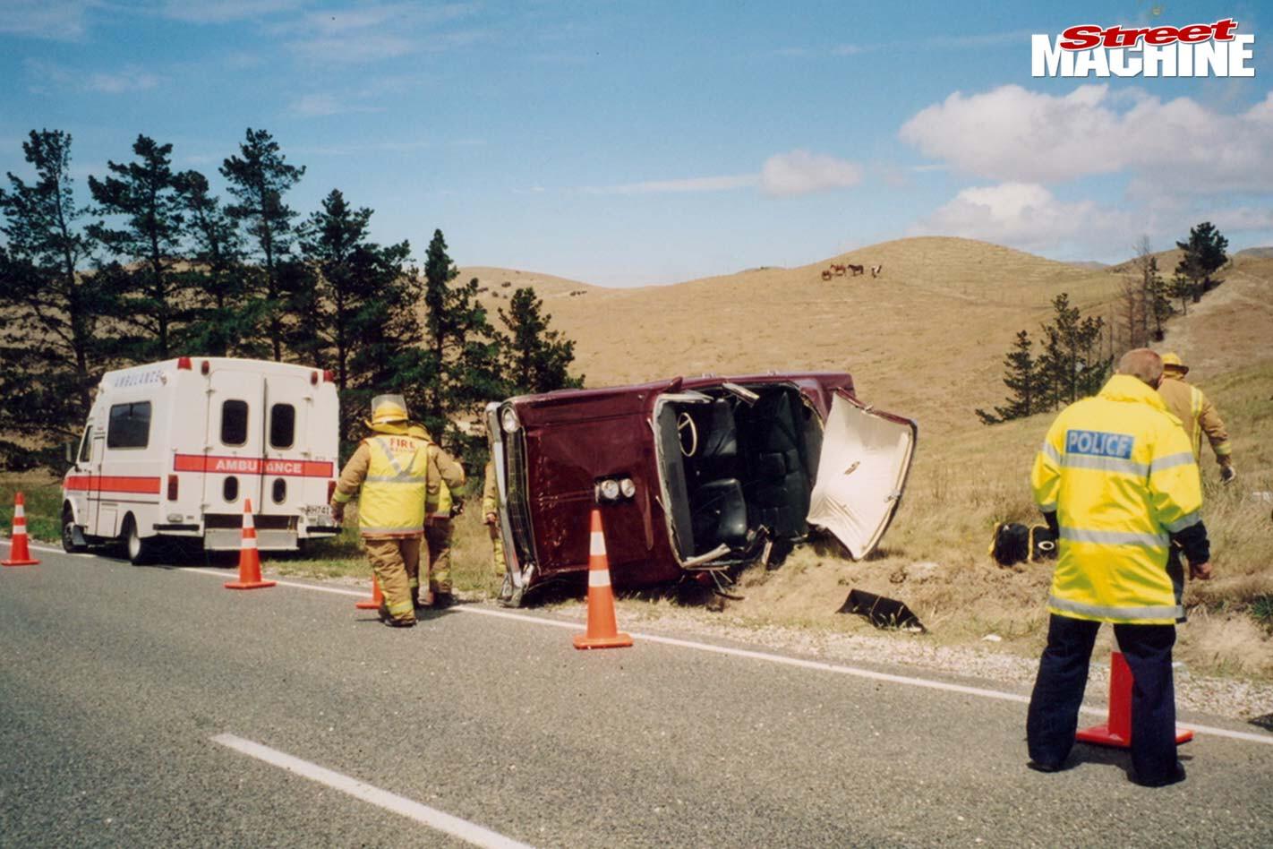 Ford Falcon accident