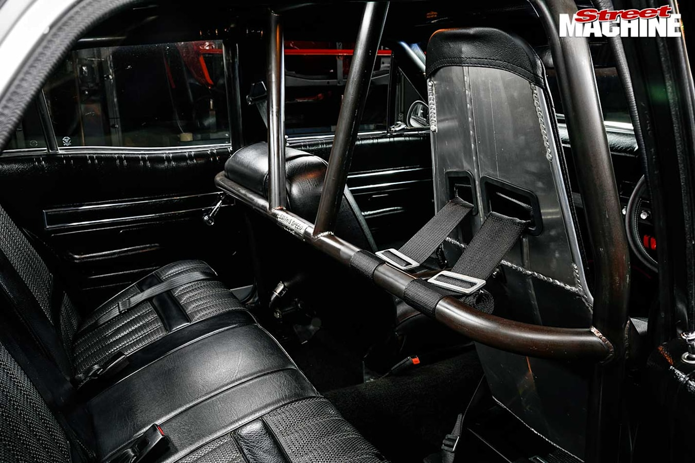 Ford Falcon XT interior rear