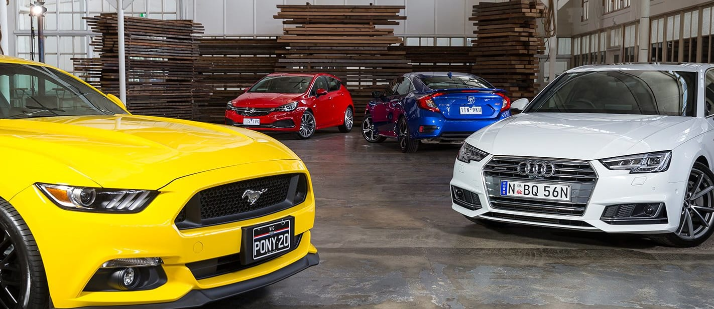 Ford Mustang Holden Astra Audi A 4 Honda Civic RS At Which Car Style Awards Jpg
