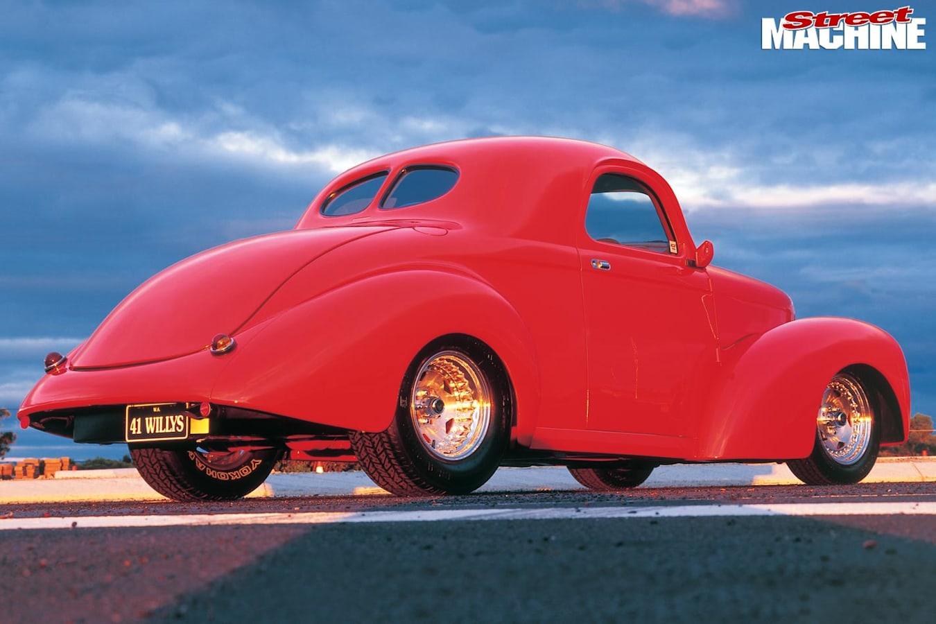 Willys coupe rear