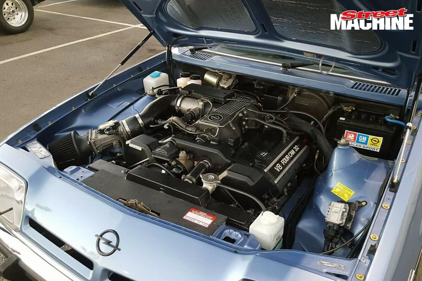 Opel Manta V 8 1 UZ Engine Nw Jpg
