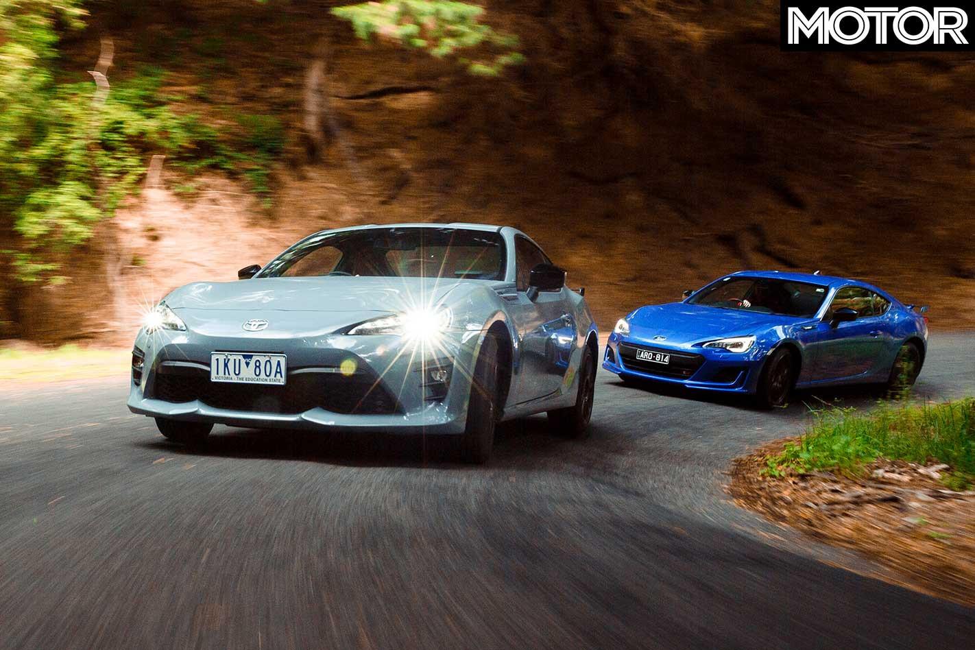 2018 Subaru Brz Ts Vs Toyota 86 Pp Comparison Drive Handling Jpg
