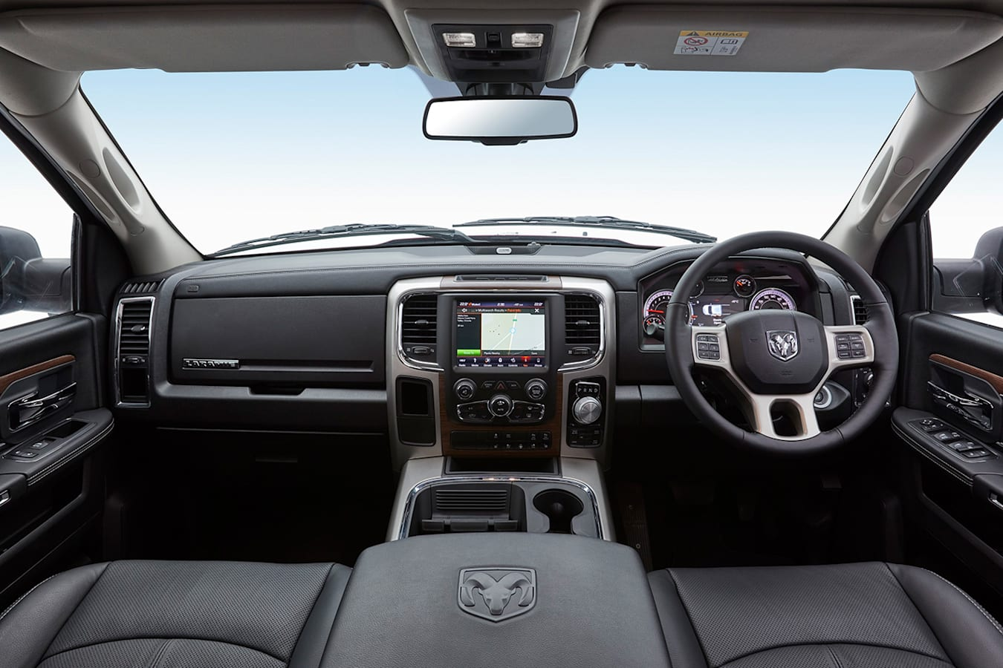 Ram 1500 Laramie Interior Jpg