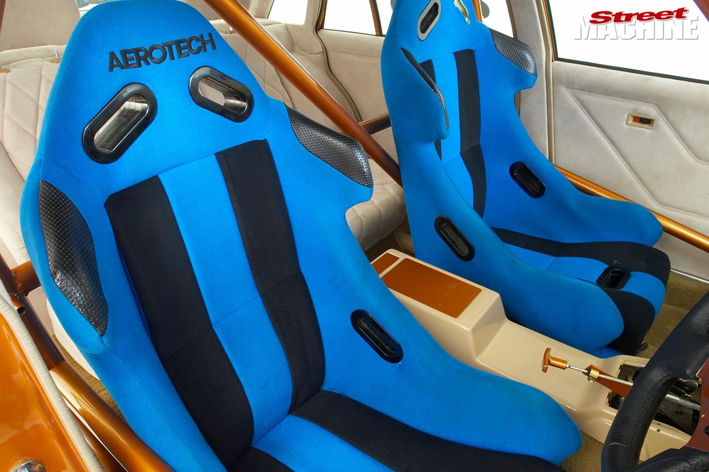Holden VL Commodore seats