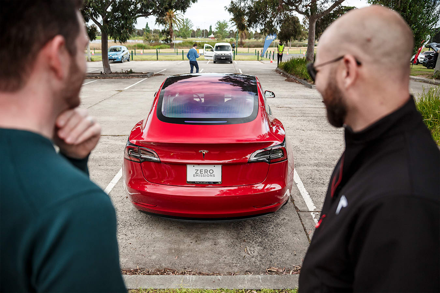 Tesla Model 3 Rearend Jpg