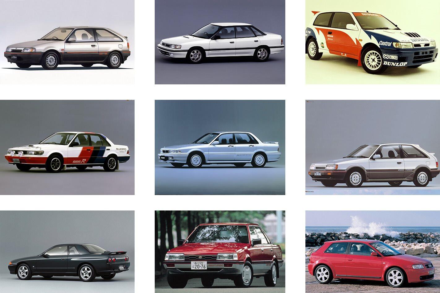 9 Rare Turbo AWDs