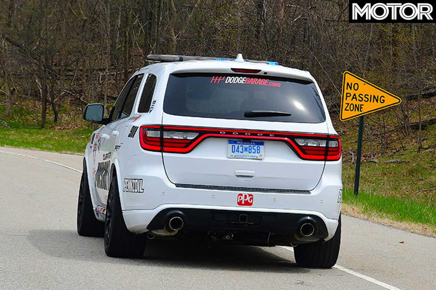 Durango Pursuit Speed Trap Lap Of America Rear Jpg