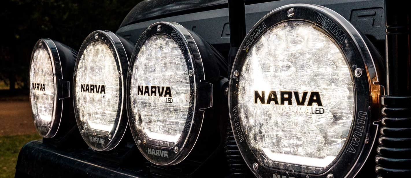 Narva Ultima 180 LED driving lights review