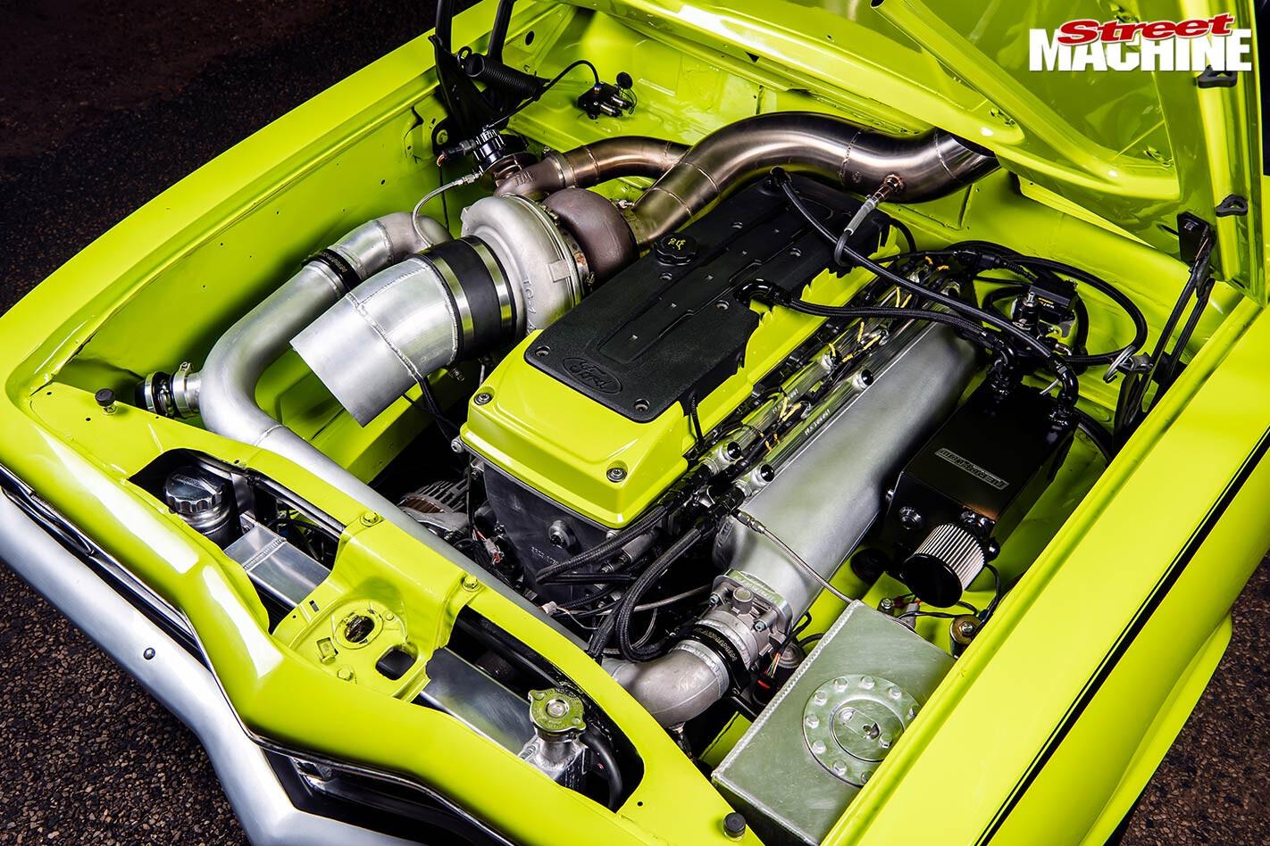 Holden LC Torana engine bay