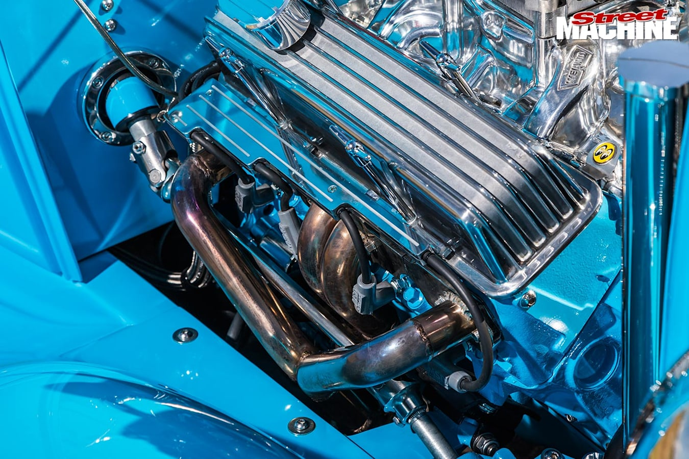 Ford Roadster engine