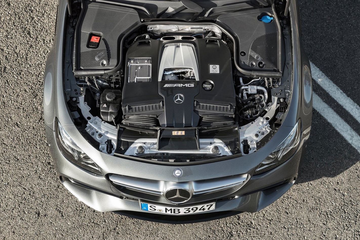 2017 Mercedes-AMG E63 engine