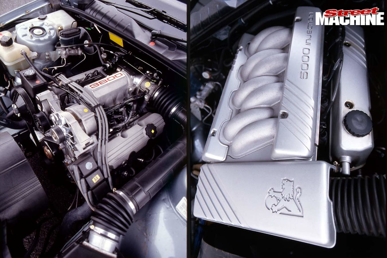 Holden Commodore VN engines