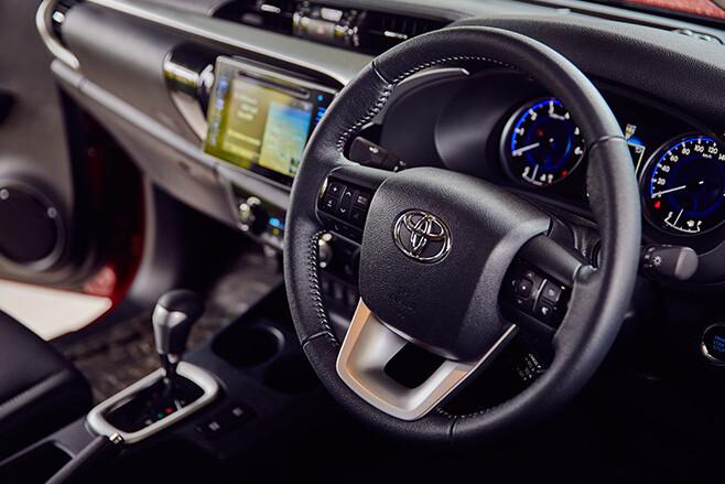 2016 Toyota Hilux SR5 interior