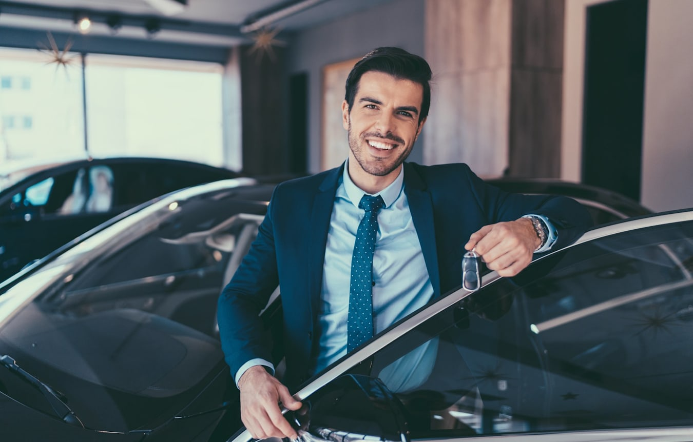 picking up your new car