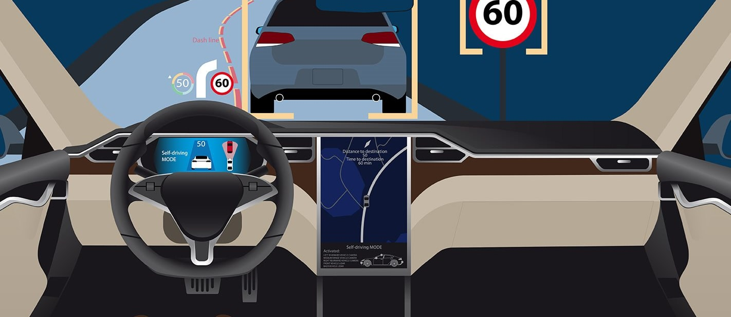 Autonomous cars can be hacked with stickers: report