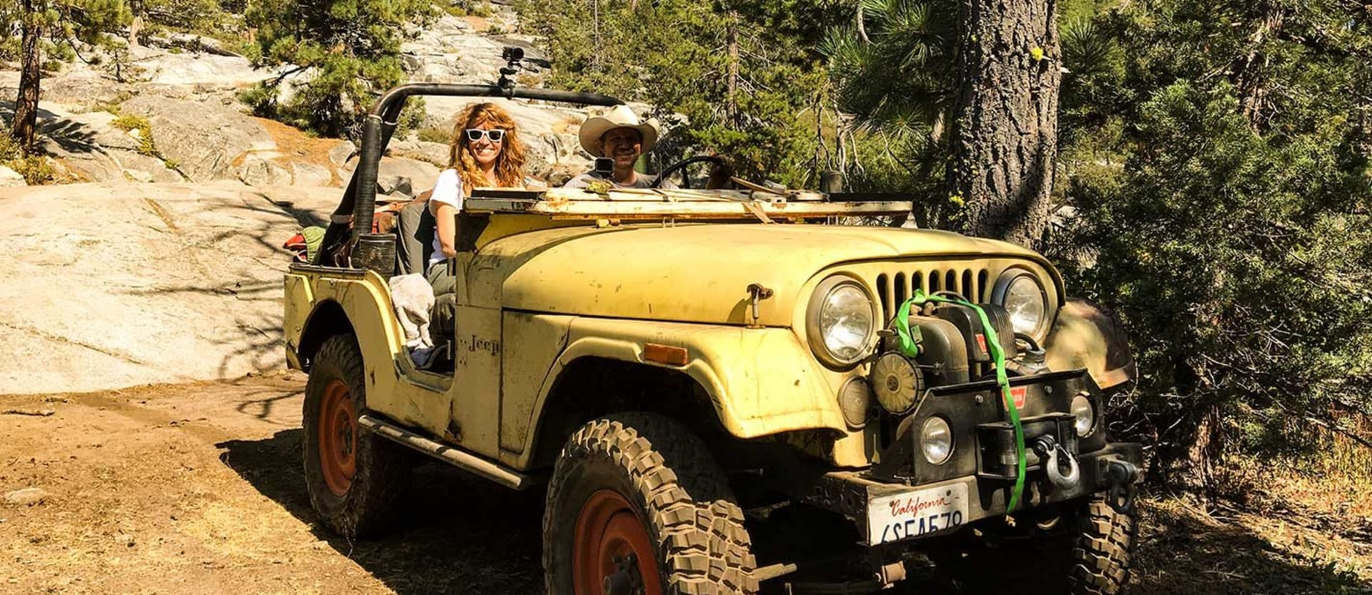 Driving a 1973 Jeep CJ-5 on the Rubicon Trail