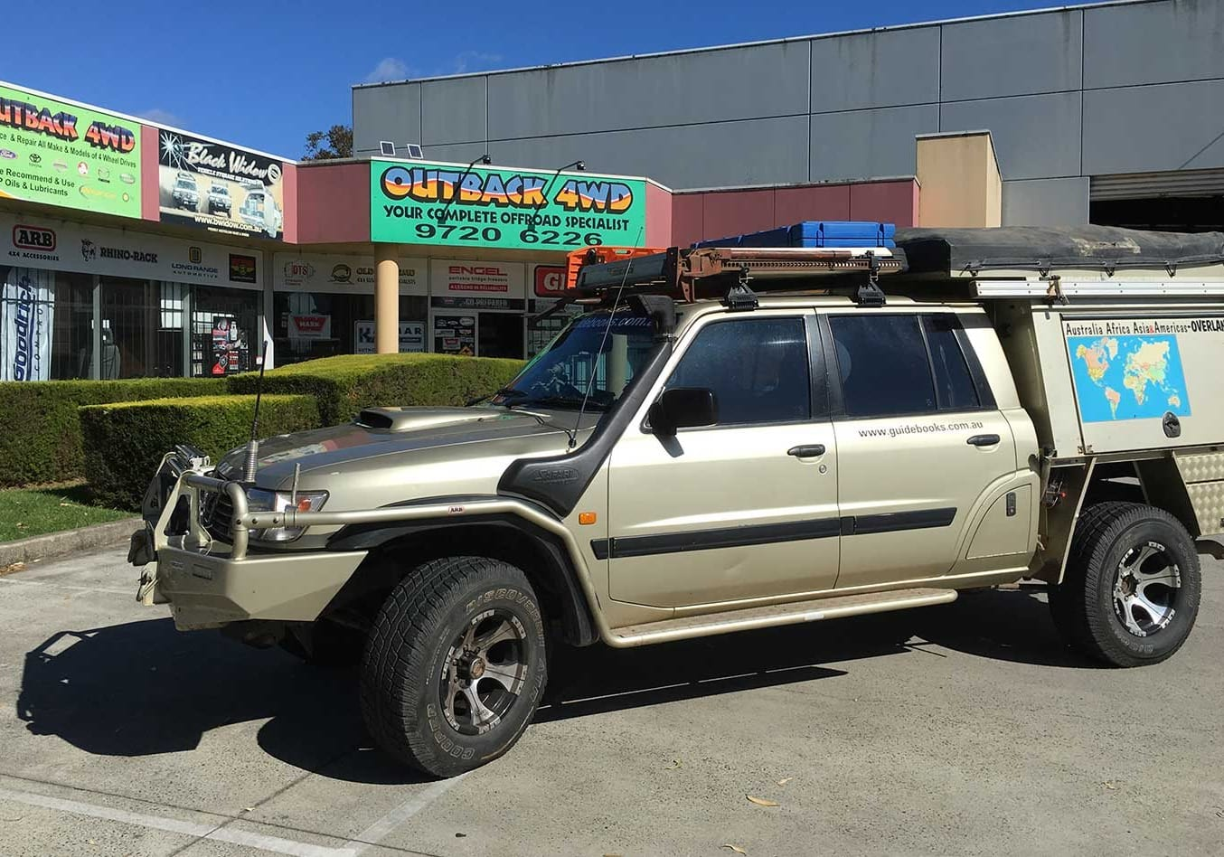 2001 Nissan Patrol long-term review update 4x4 Shed