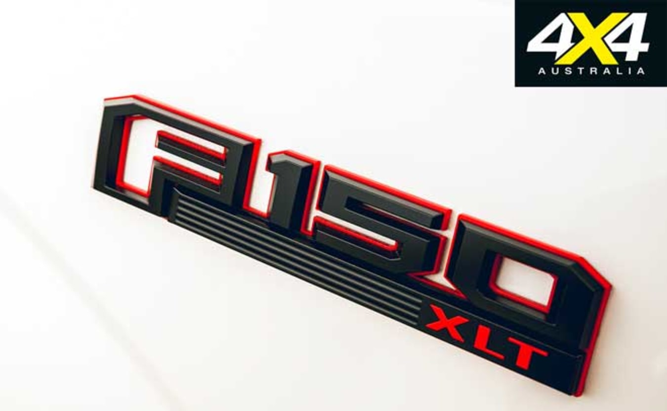 2019 Tickford Ford F-150 badge