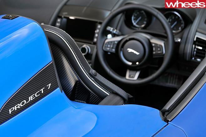 Jaguar -F-Type -Project -7-front -interior