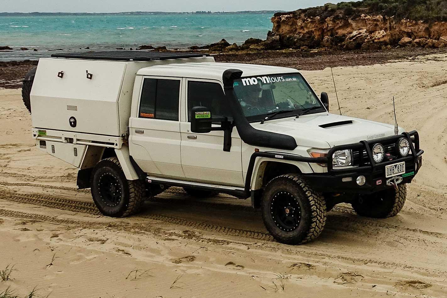 Beach driving in Robe South Australia