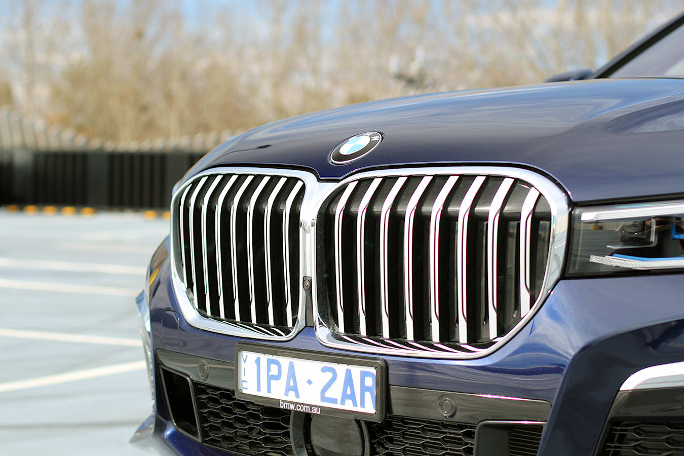 2019 BMW 7 Series grille