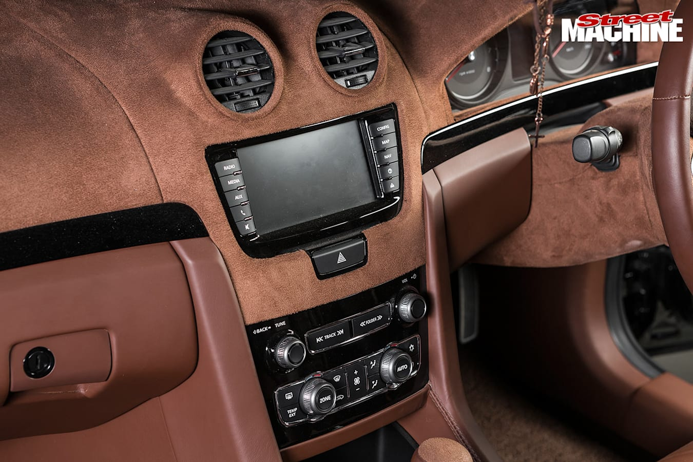 Holden VE ute console