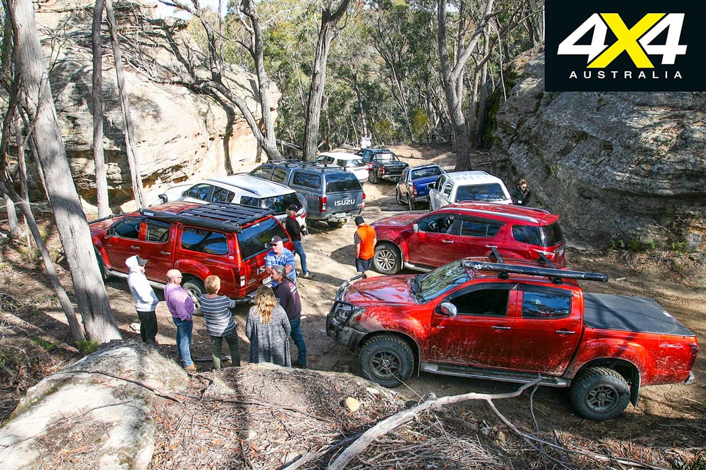 Isuzu I Venture Club In The Blue Mountains NSW Participants Jpg